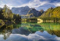 Mountain lake.High resolution panorama Stock Photo