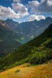 Mountain lake. High Tatras, Poland. Royalty Free Stock Photos