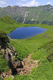 Mountain Lake In 7 Lakes Valley Royalty Free Stock Photography