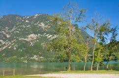 Mountain lake, Italy Stock Photos