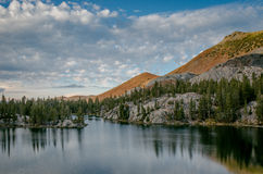 Mountain lake, John Muir Wilderness Royalty Free Stock Photo