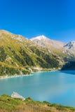 Mountain lake, Kazakhstan Royalty Free Stock Image