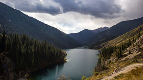 Mountain Lake. stock video