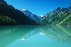 Mountain lake Kucherlinskoe Royalty Free Stock Image