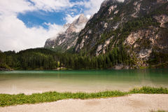 Mountain lake Royalty Free Stock Photography