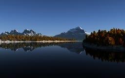 Mountain lake landscape Stock Photo