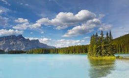 Mountain Lake, Landscape, National Park, Canada Stock Photography
