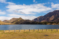 Mountain and lake landscape Royalty Free Stock Photos