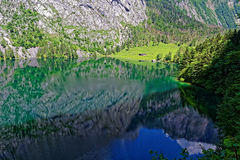 Mountain lake landscape reflection Royalty Free Stock Image
