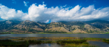 Mountain Lake Landscape Royalty Free Stock Photography
