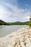 Mountain lake. Lonely mountain lake in summer Royalty Free Stock Photography
