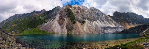 Mountain Lake in Marble Peak Stock Photo