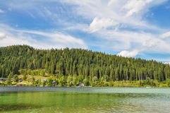 Mountain Lake in Mariazell Royalty Free Stock Photography