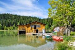 Mountain Lake in Mariazell Royalty Free Stock Photo