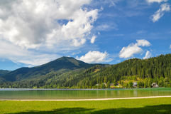 Mountain Lake in Mariazell Royalty Free Stock Image