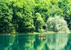 Mountain lake in Montenegro Stock Photo