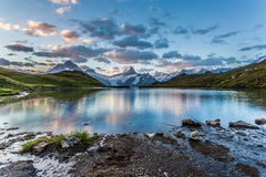 Mountain lake in the Morning Royalty Free Stock Photos