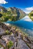 Mountain lake with mountain views Royalty Free Stock Image