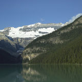 Mountain and lake Stock Images