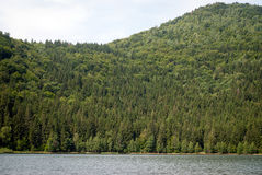 Mountain lake. Mystic lake with pure water in the mountains Stock Photography