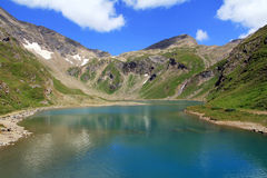 The  mountain lake Stock Image