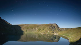 Mountain Lake by Night - Rila, Bulgaria Royalty Free Stock Image