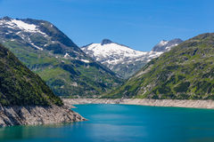Mountain lake. Part view of mountain lake in Austria Alps Royalty Free Stock Photography