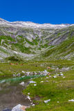 Mountain lake. Part view of mountain lake in Austria Alps Royalty Free Stock Image
