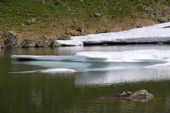 Mountain lake. Royalty Free Stock Photo