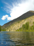 Mountain lake at Pyrenees Stock Photo