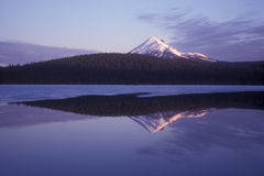 Mountain Lake Reflection Stock Photography