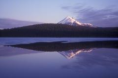 Mountain Lake Reflection Stock Photography