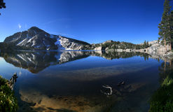 Mountain lake reflection Royalty Free Stock Images