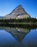 Mountain Lake Reflection Stock Photo