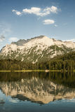Mountain Lake Reflection Stock Images