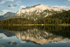 Mountain Lake Reflection royalty free stock photo