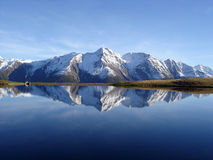 Mountain Lake Reflection royalty free stock image