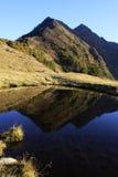 Mountain Lake Reflection Royalty Free Stock Image