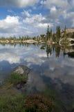 Mountain Lake Reflection Royalty Free Stock Photo
