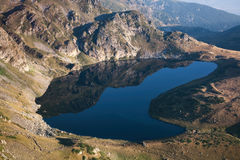 Mountain Lake in Rila, Bulgaria Royalty Free Stock Photography