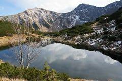 Mountain lake in Roháče, Western Tatras Royalty Free Stock Photography