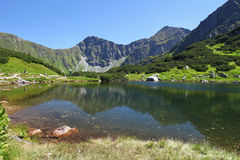 Mountain lake - Rohace, Slovakia Royalty Free Stock Image