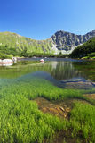 Mountain lake - Rohace, Slovakia Stock Photos