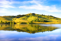 Mountain lake. Russia. Altai Stock Images