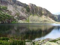 Mountain lake. The Lake in Sayan, Krasnoyarsk Krai, Siberia, Russia Stock Photos