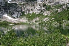 Mountain Lake. Silver Lake, American Fork Canyon, Utah Stock Photos