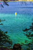 Mountain Lake in Summer. Detail of a mountain lake in Summer Stock Photography