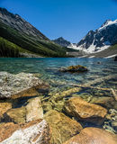 Mountain Lake in Summer Stock Photography