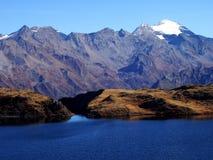 Mountain Lake Swiss Alps Stock Photos