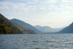 Mountain lake. Teletskoye in Altai Royalty Free Stock Photo